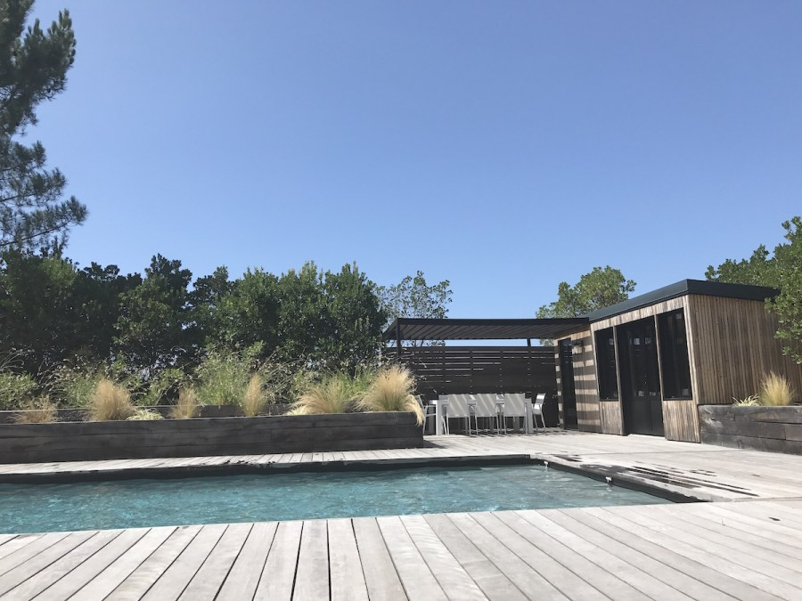 Superbe maison de vacances au Cap Ferret avec piscine. Villa rental with pool in Cap Ferret France Villa Mogador