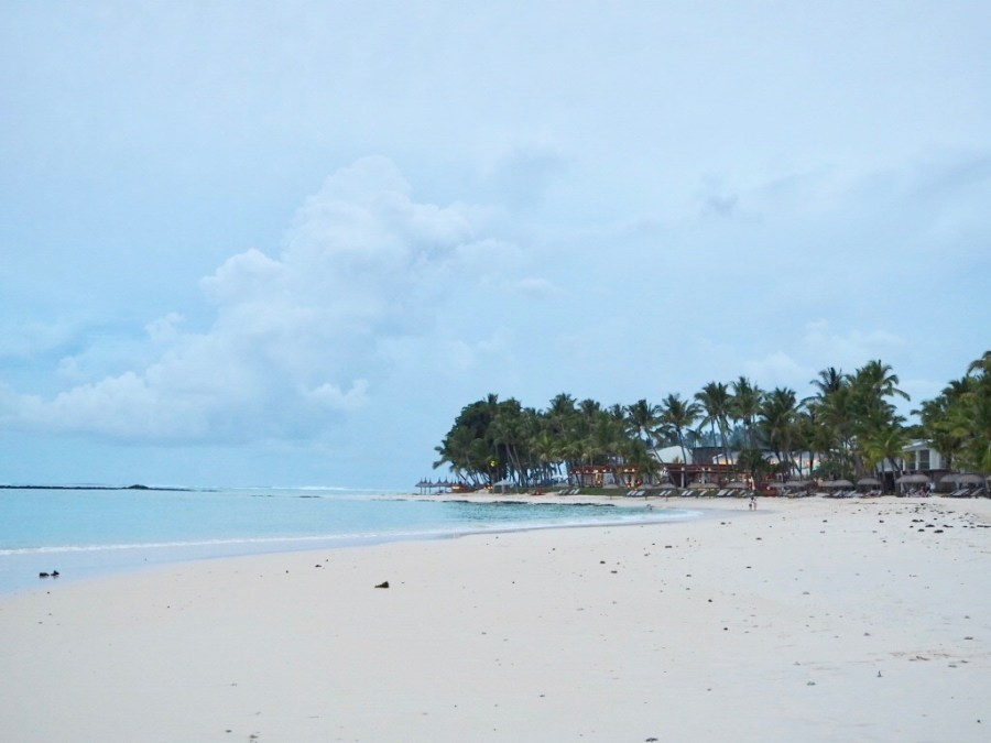 Mauritius beach at One & Only le Saint Geran
