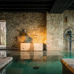 La Ferme du Vent, a place to unwind in Brittany with delicious food and spa treatments dedicated to the feet. Plus indoor heated pool.