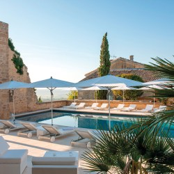 An affordable luxury hotel in provence with heated pool