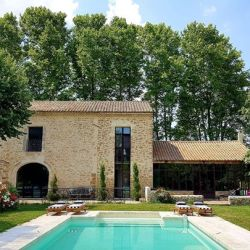 Le Mas des Palermes, villa rental with pool in Provence. Beautiful French house with tasty interior design.