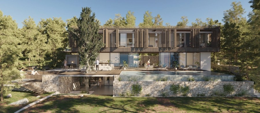 Maslina resort, one of the new boutique hotel openings in 2020. Read the article for 25 more hotels with pool in Europe.