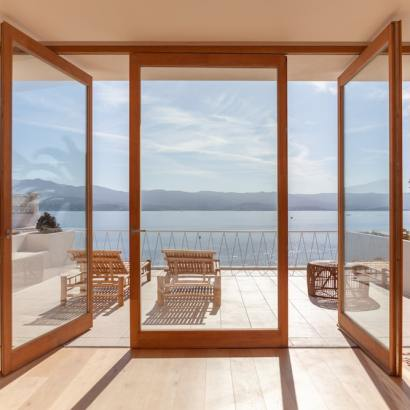 Casa Santa Teresa near Ajaccio is a luxury beach villa with pool in Corsica