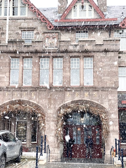 Fife Arms review.  Our weekend away at The Fife Arms in the Cairngorms a luxury hotel in Scotland and the perfect mix of relaxing and adventuring!!