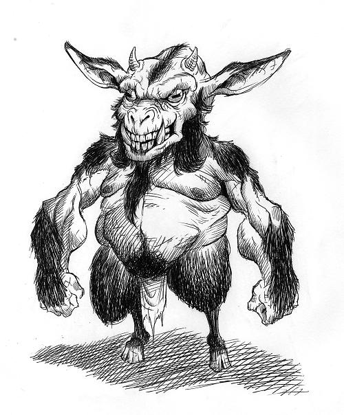 kallikantzaros de Fugushiman - Kallikantzaroi - Christmas Goblins
