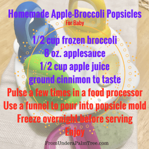 Apple-Broccoli-Popsicles by From Under a Palm Tree