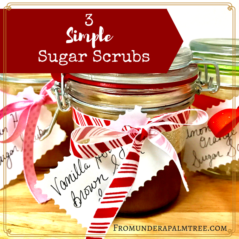 3 Simple Sugar Scrubs | DIY sugar Scrub | DIY Skincare | DIY sugar Scrub | Essential Oil skincare |