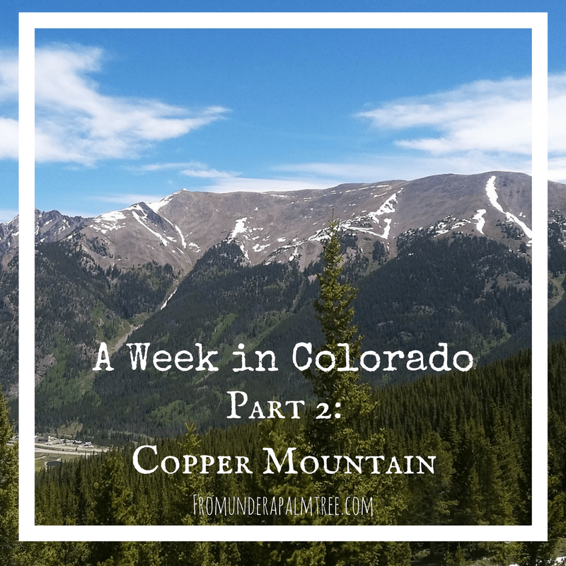 A Week in Colorado - Part 2: Copper Mountain by From Under a Palm Tree
