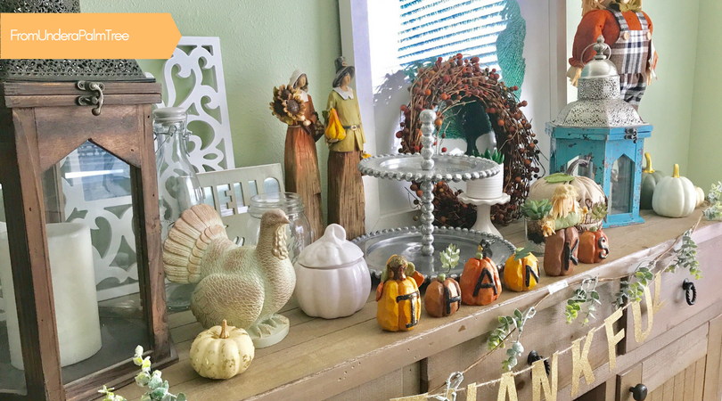 Target Dollar Spot Fall Decor Finds by From Under a Palm Tree