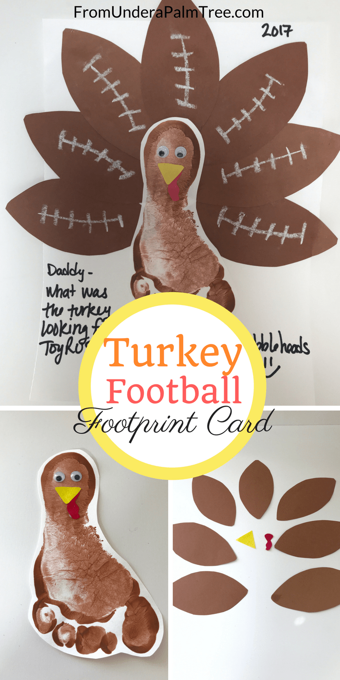 Thanksgiving cards | DIY | DIY Thanksgiving cards | Footprint cards | handprint cards | Thanksgiving footprint card | Thanksgiving handprint card | crafts | kids Thanksgiving crafts | holiday footprint cards | holiday handprint cards | footprint card tutorial | how to make footprint cards | holidays | holiday