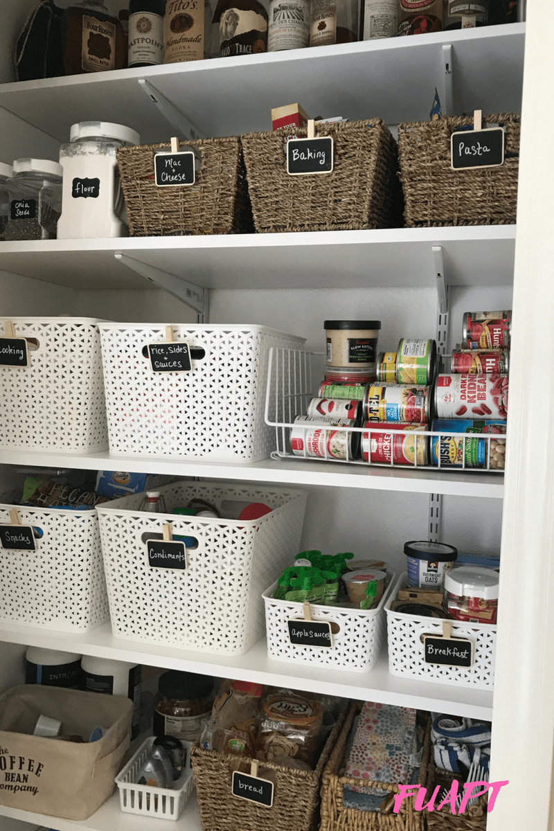 Food Pantry Organization Tips by From Under a Palm Tree