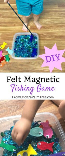 diy | diy felt fishing game | fishing game | fish | sensory play | hand eye coordination games for kids | screen free games | toddler games | preschooler games | learning games | learning | counting games for kids | color recognition games for kids | color recognition games | counting games | fine motor skills | fine motor development games | fine motor development | letter F activities | letter F games for kids | letter F learning games | letter F |