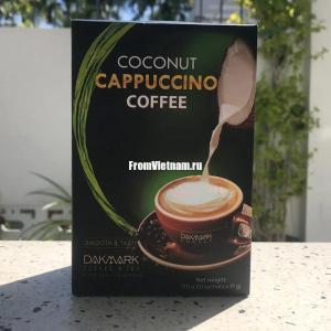 Кофе 3в1 Капучино с кокосовым молоком Dakmark 170г