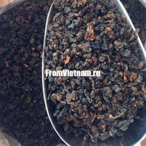 Премиум чёрный чай (Tra Den Oolong) «клубника со сливками» 100г