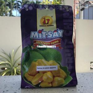 Натуральные чипсы из Джекфрута 200г