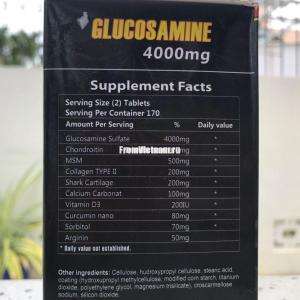 Glucosamine 4000mg USA (Глюкозамин 4000 мг США) 100 капсул
