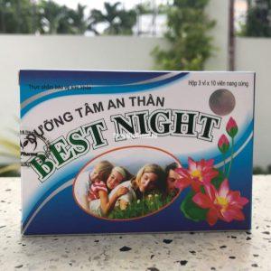 Best Night Duong Tam An Than Успокоительные таблетки на основе трав 30 капсул