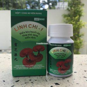 Linh Chi-f Гриб Линчжи 40 капсул