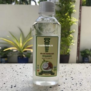 VietCoco натуральное кокосовое масло пищевое 250 мл