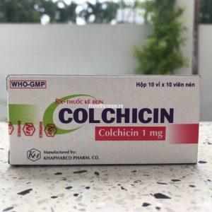 Colchicin 1мг Колхицин средство от подагры 100 таблеток