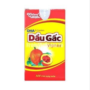 Dau Gac Viphar масло момордики 100 капсул