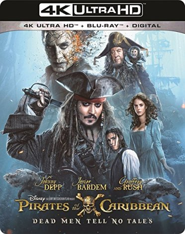 Blue-Ray Review: Pirates Of The Caribbean-Dead Men Tell No Tales