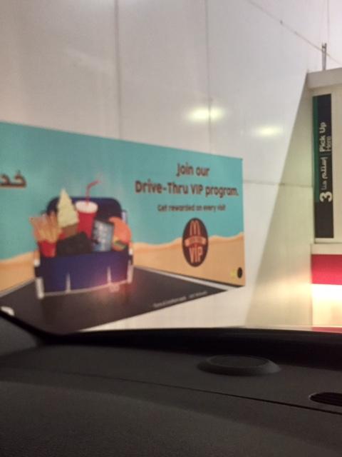 Dubai McDonalds. Expats