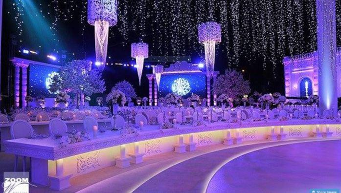 Emirati wedding hall