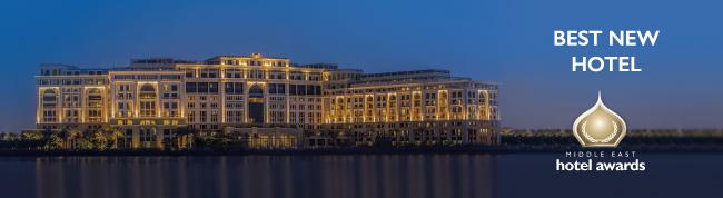 Exterior view of Palazzo Versace Dubai. Photo credit: Palazzo Versace Dubai, Markeitng & Communications.