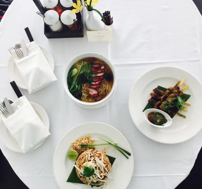 COMO Metropolitan room service, Bangkok