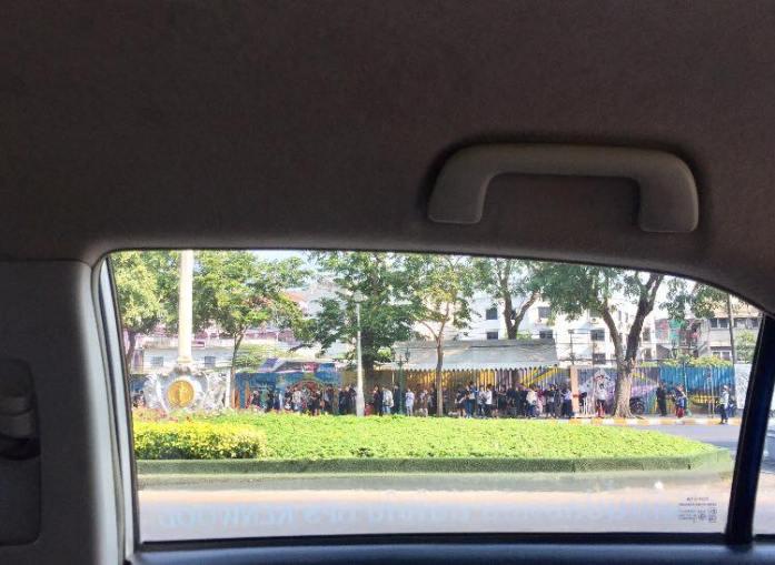 Bangkok mourners