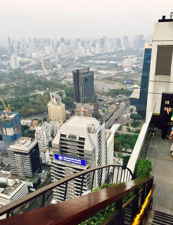 View from Vertigo Bar, Bangkok