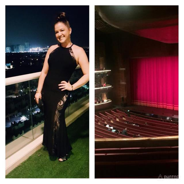 About this weekend    dubaiopera mandelatrilogy blackdress eveningouthellip