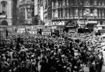 VE Day Crowd
