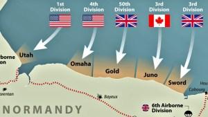 landings map
