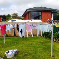 How the Simple Clothes Line Fostered Friendships in Timaru