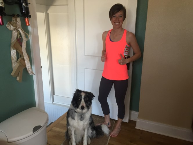 Fabletics Outfit Review - 2 thumbs up