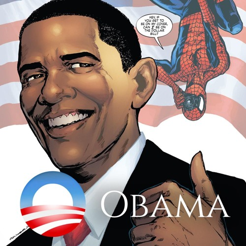 Issue 35 barack obama comics fronds radio sciox Image collections