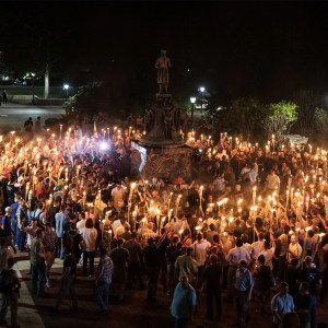 Tiki Torches are the new hoods in Charlottesville