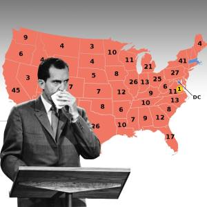 Elections really showcased what a CREEP Nixon was