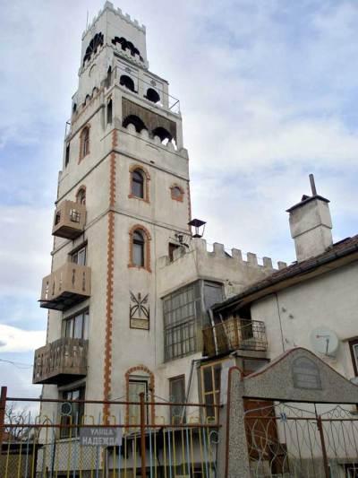 Кулата на Петко Огойски в село Чепинци.