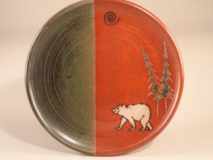 Custom Bear Dinnerplates