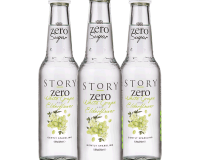 Story Zero White Grape & Elderflower Pressé 12x275ml