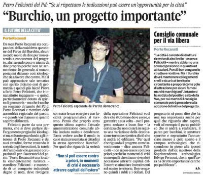 Intervista Feliciotti