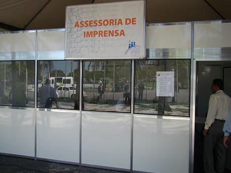 Sala do Conselho de Comunicação e Imprensa da CGADB