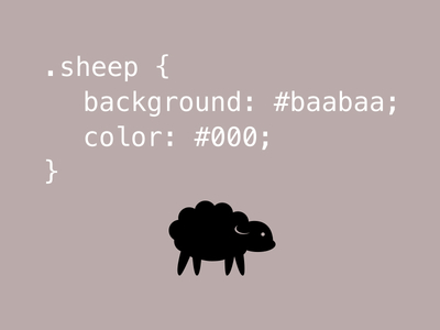 Sheep code pun