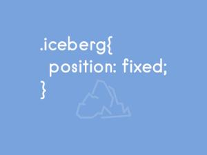 Iceberd css pun