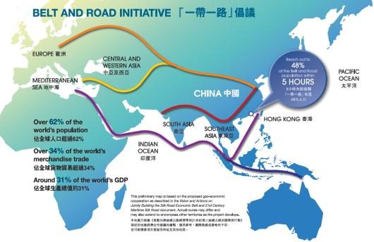 Bildergebnis für Belt-and-Road-Initiative