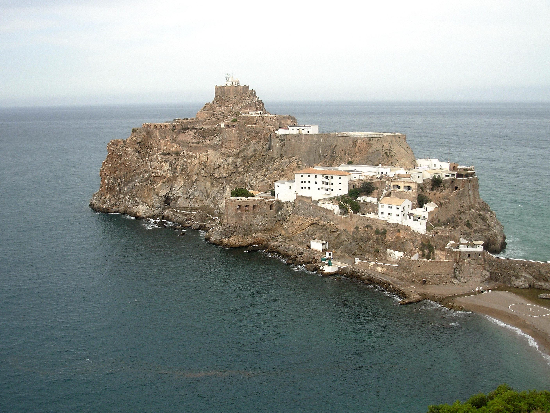 Peñón de Vélez de la Gomera (click para ampliar)