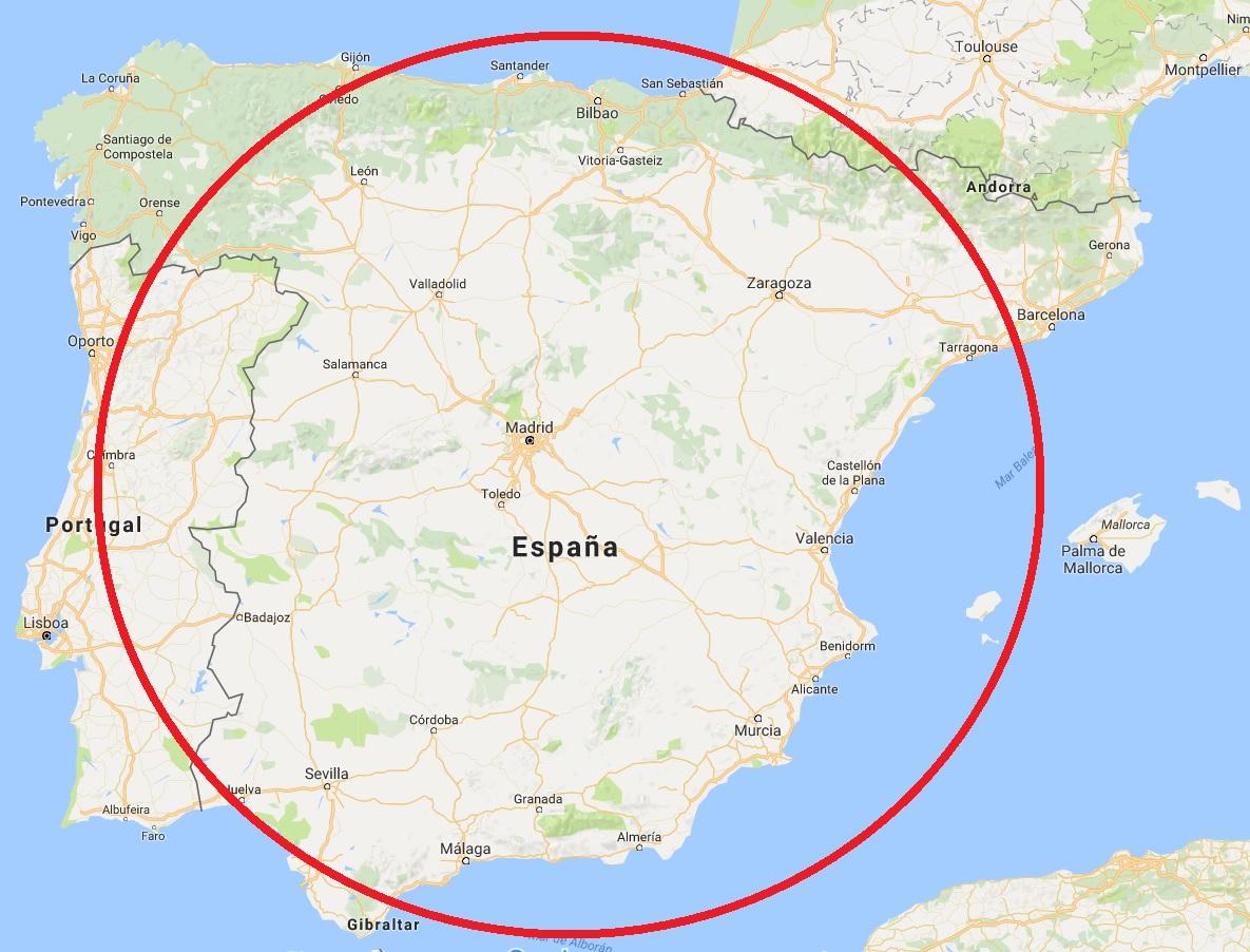 Mapas Fronteras